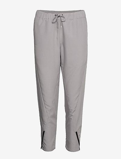 W RACE WOVEN PANT - spodnie sportowe - dim grey