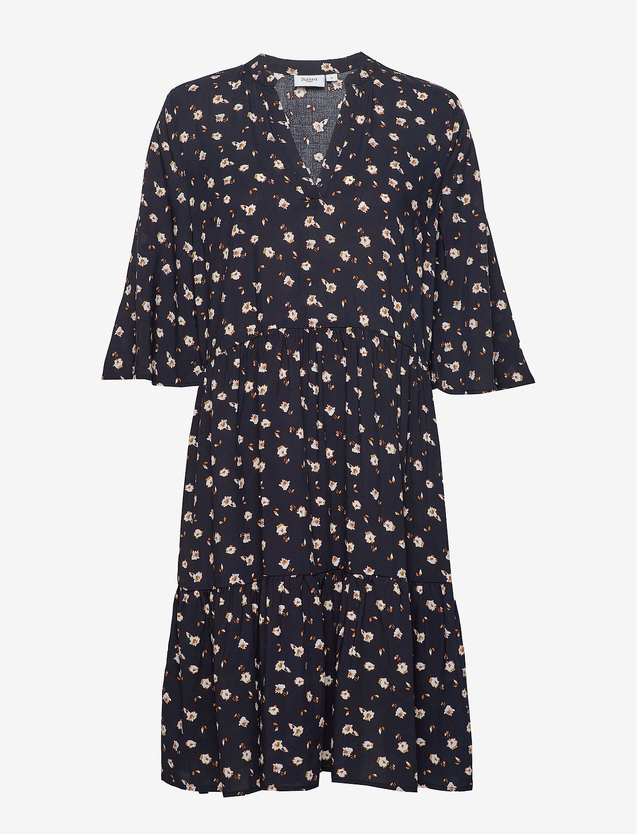 Bellissz Dress (Farm F. Blue Deep) - Saint Tropez rkf9qD