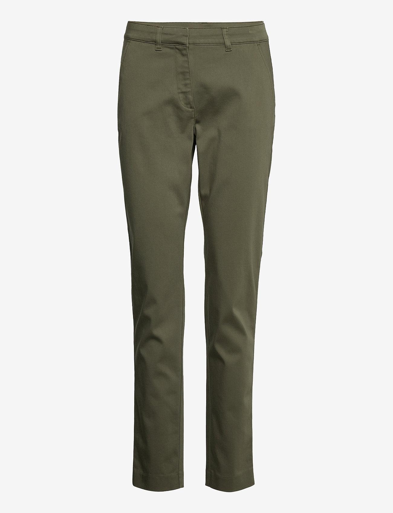 Saint Tropez - ClothildeSZ Pants - chinos - army green - 0