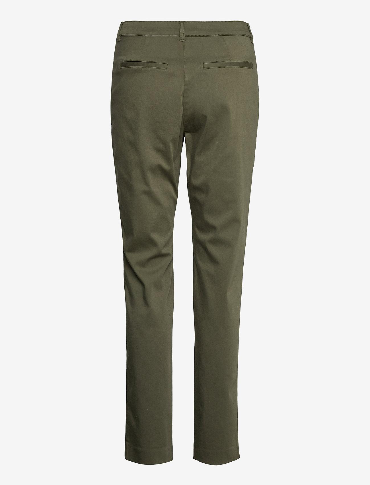 Saint Tropez - ClothildeSZ Pants - chinos - army green - 1