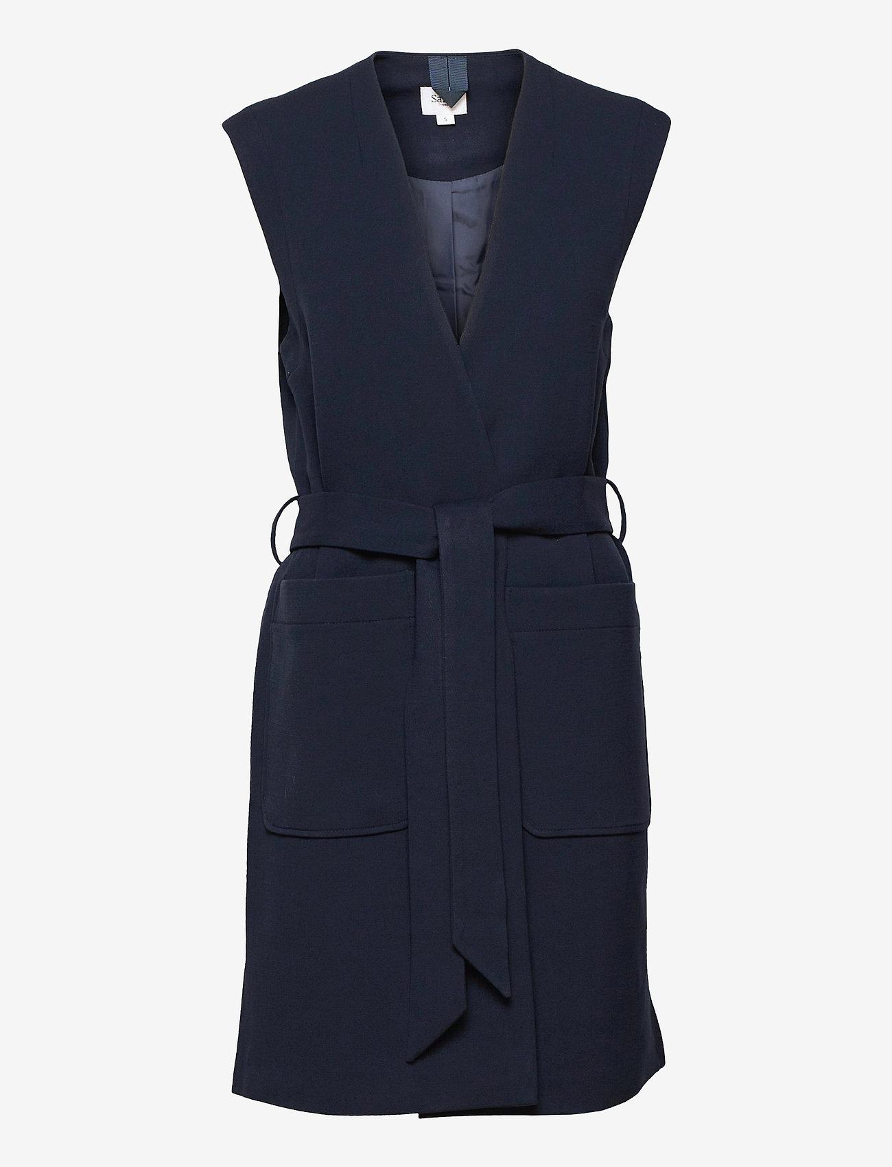 Saint Tropez - EnricaSZ Vest - knitted vests - blue deep - 1