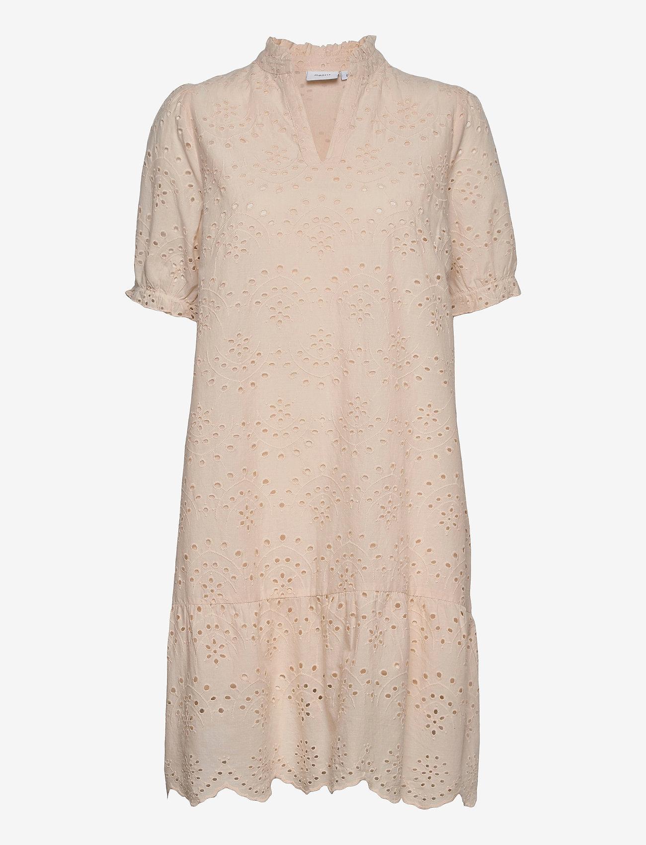 Saint Tropez - GeleksaSZ Dress - sommerkjoler - creme - 0