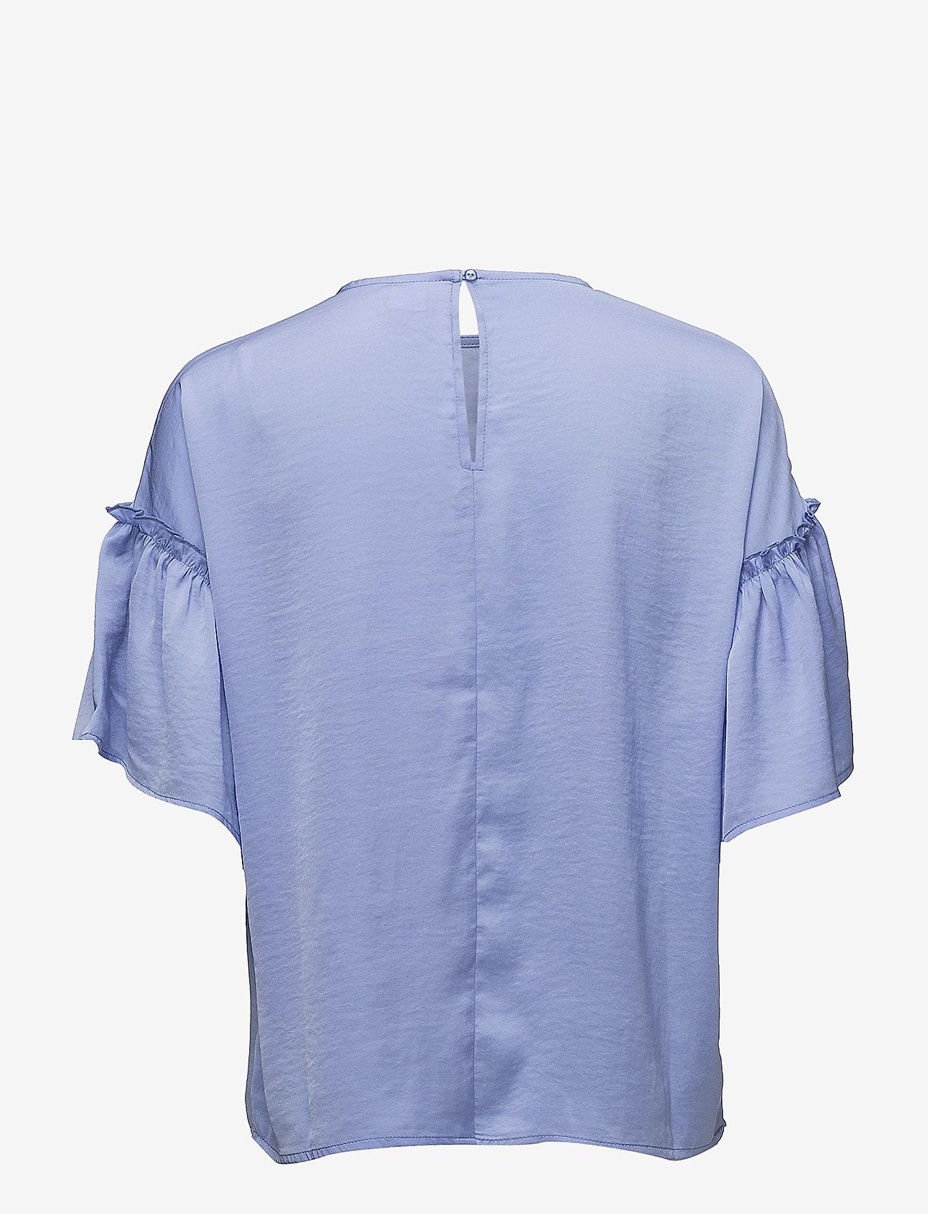 Saint Tropez BLOUSE WITH RUFFLE SLEEVE - Bluzki & Koszule HYACINTH - Kobiety Odzież.