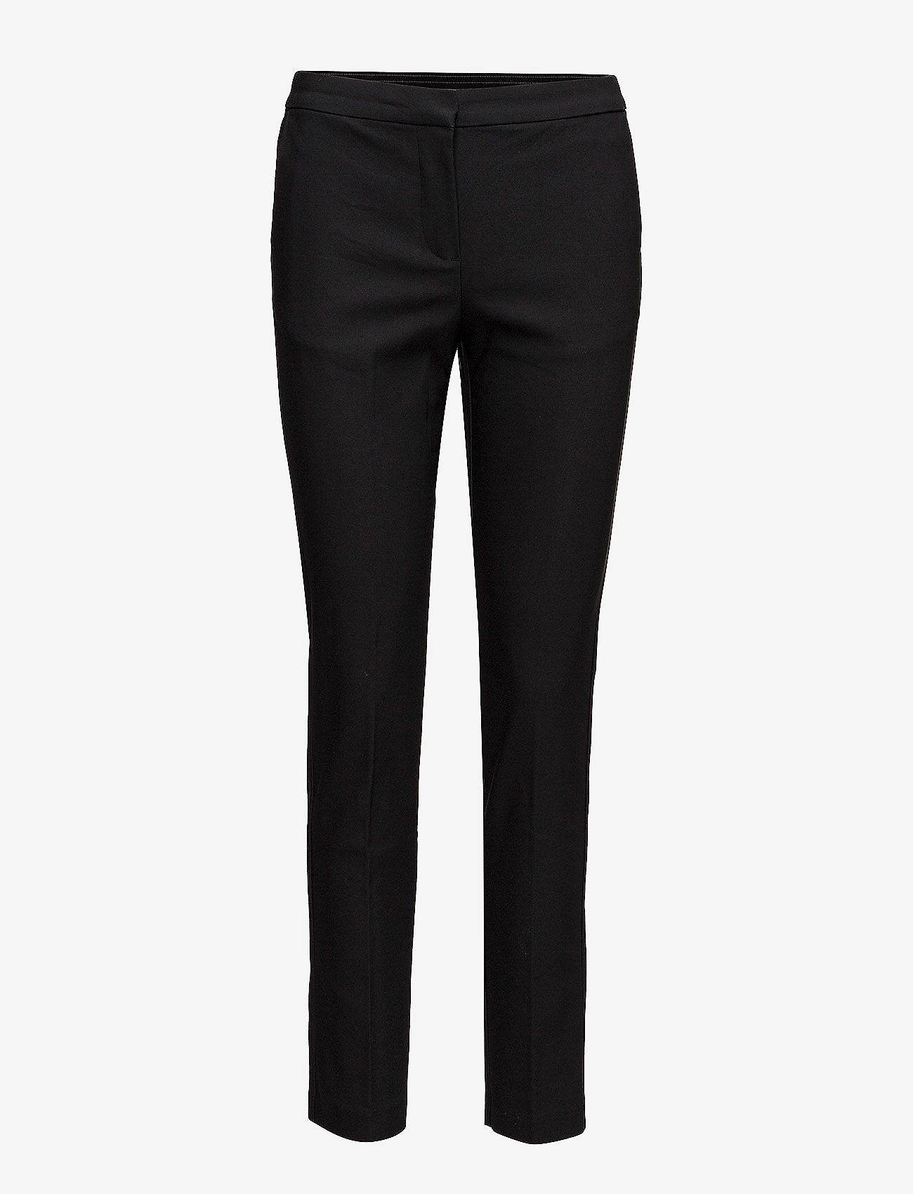 Saint Tropez - R5025, BossaSZ Pants - slim fit bukser - black - 1