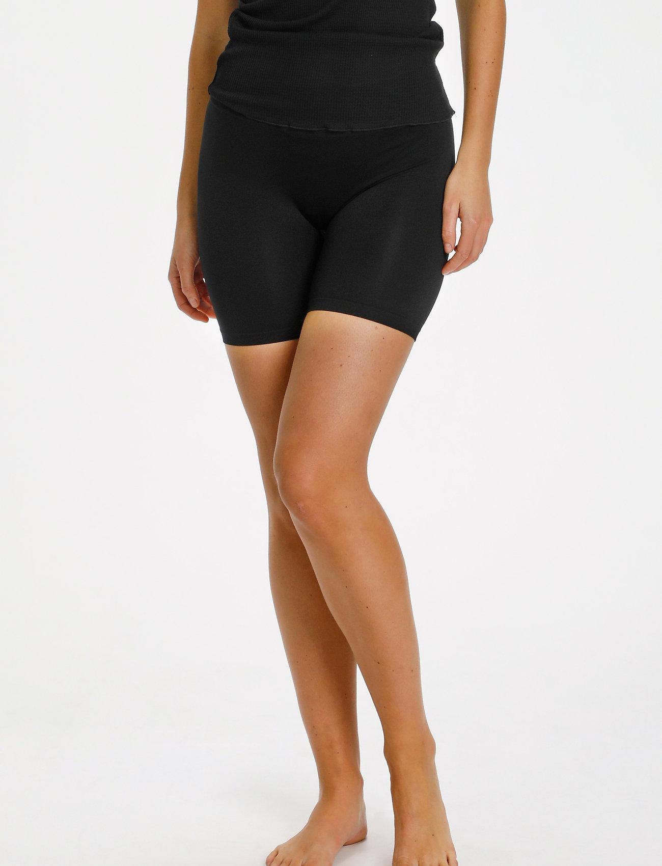 Saint Tropez - T5920, NinnaSZ Microfiber Shorts - cykelshorts - black - 0