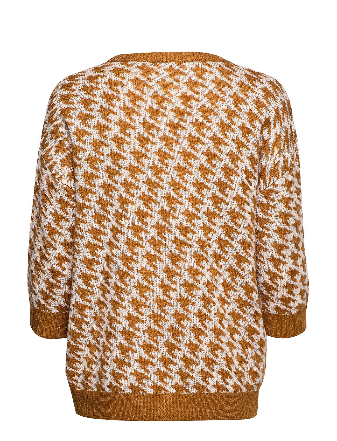 Saint Tropez U2509 Knit Jumper 3/4 Sleeve (C.spice) 249 kr   Stort utbud av designermärken QOGNQ2rL