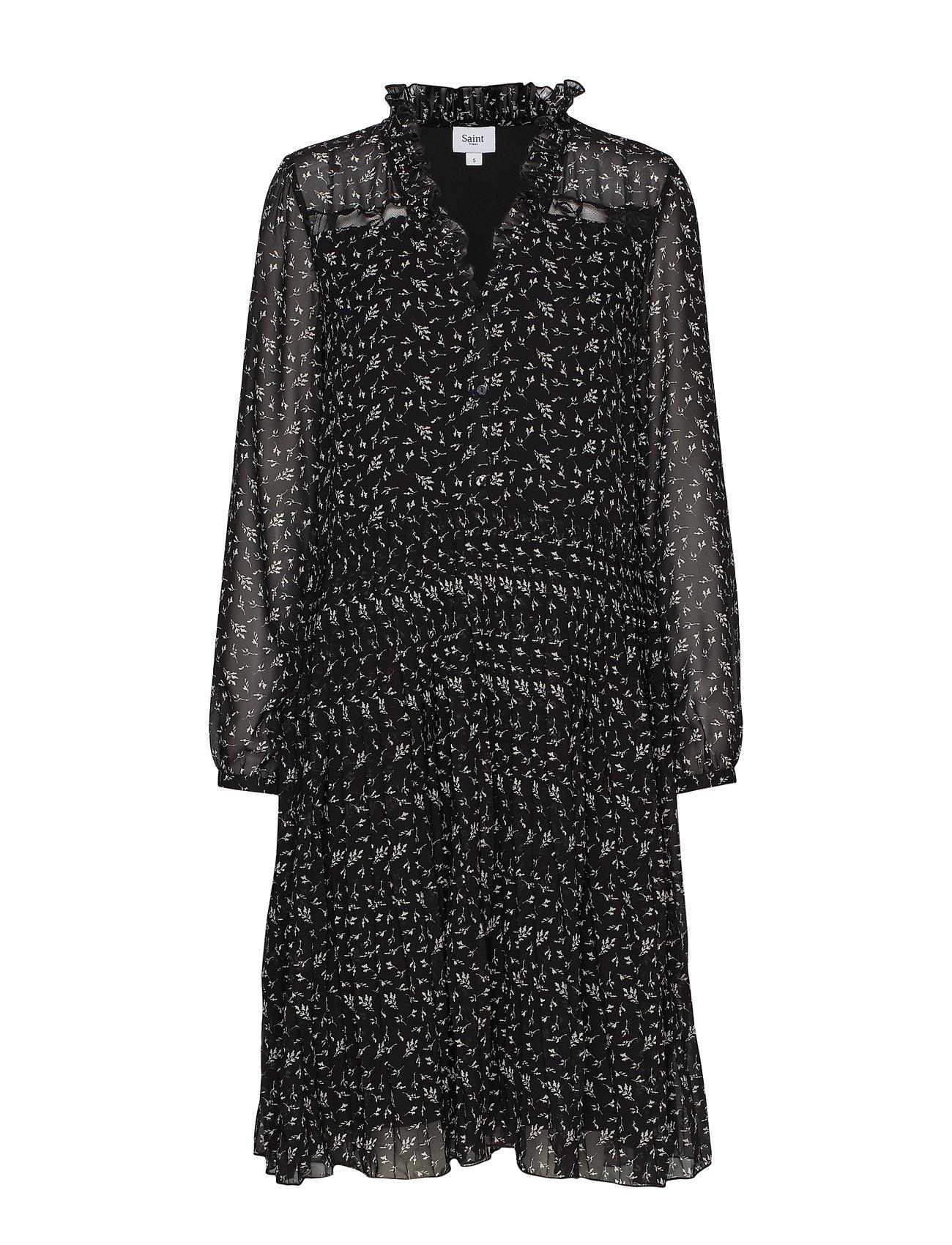 Tropez Dress KneeblackSaint U6036Woven Shirt On c5S3jq4ARL