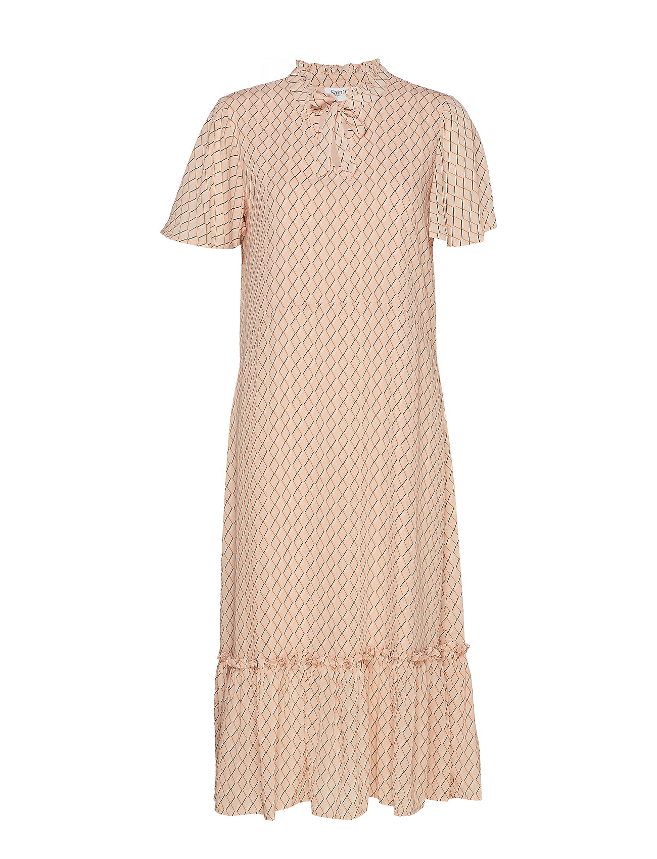 Saint Tropez U6114, WOVEN DRESS - MAXI - ROSE D.