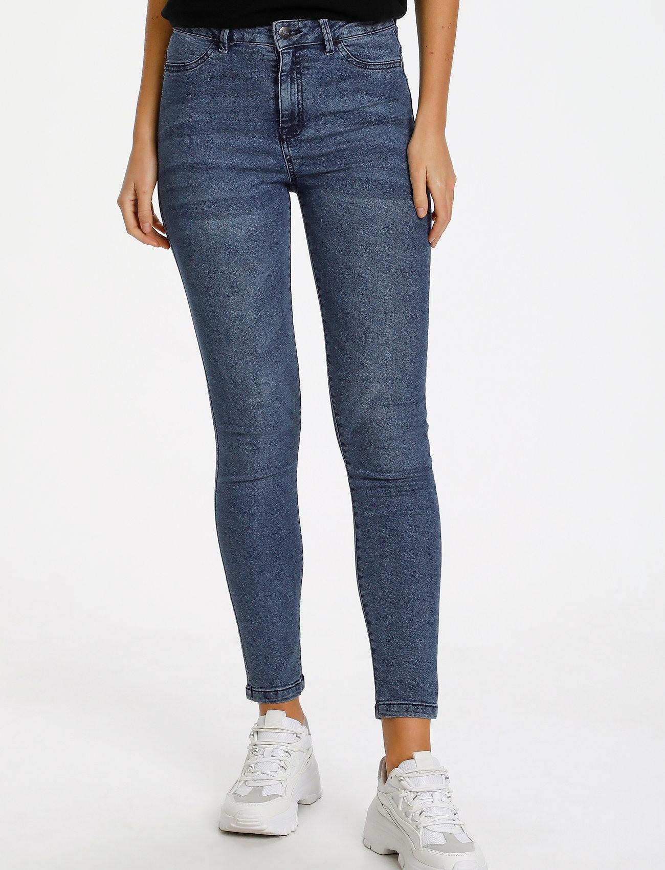 Saint Tropez - T5757, TinnaSZ Jeans - skinny jeans - med.blue - 0