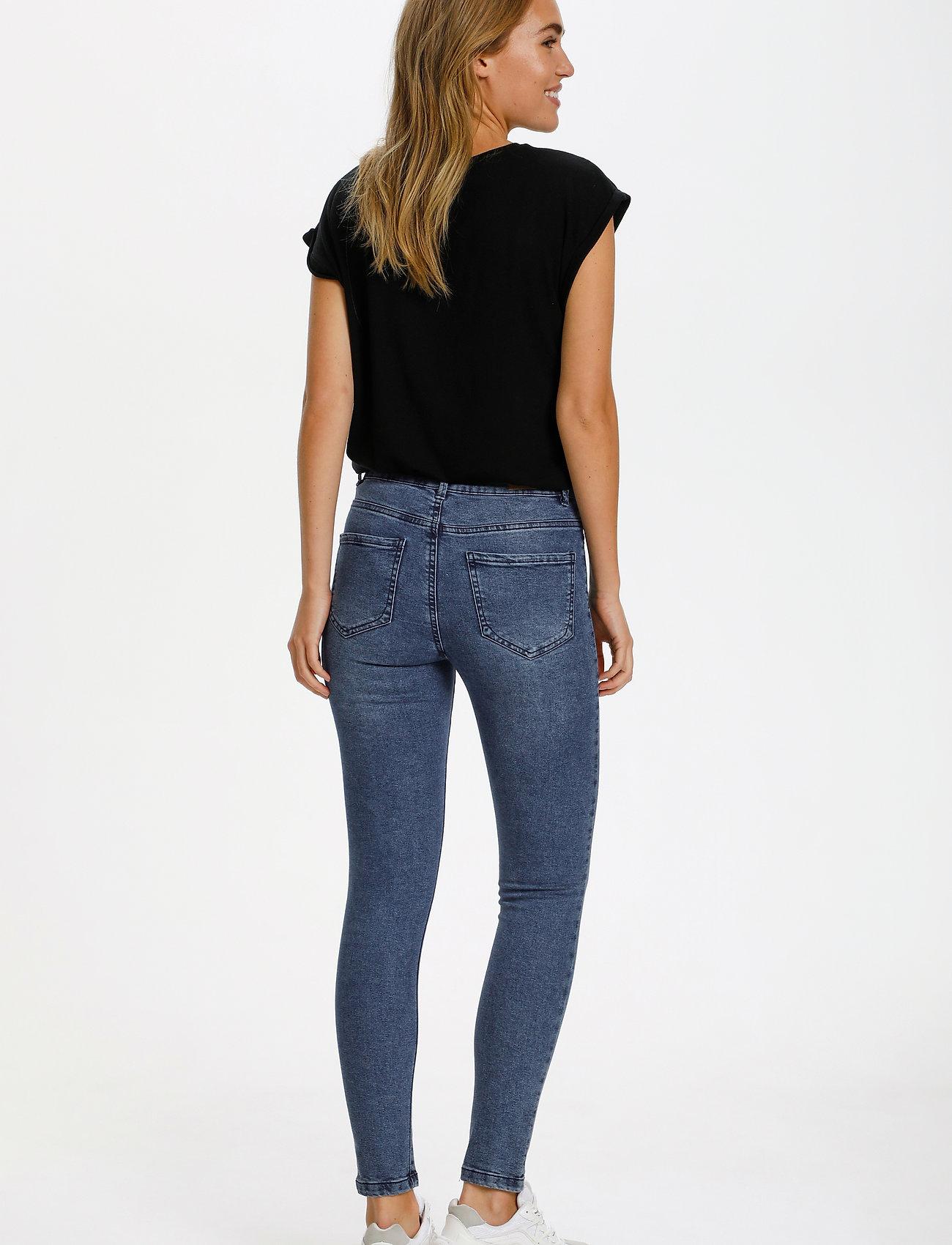Saint Tropez - T5757, TinnaSZ Jeans - skinny jeans - med.blue - 4