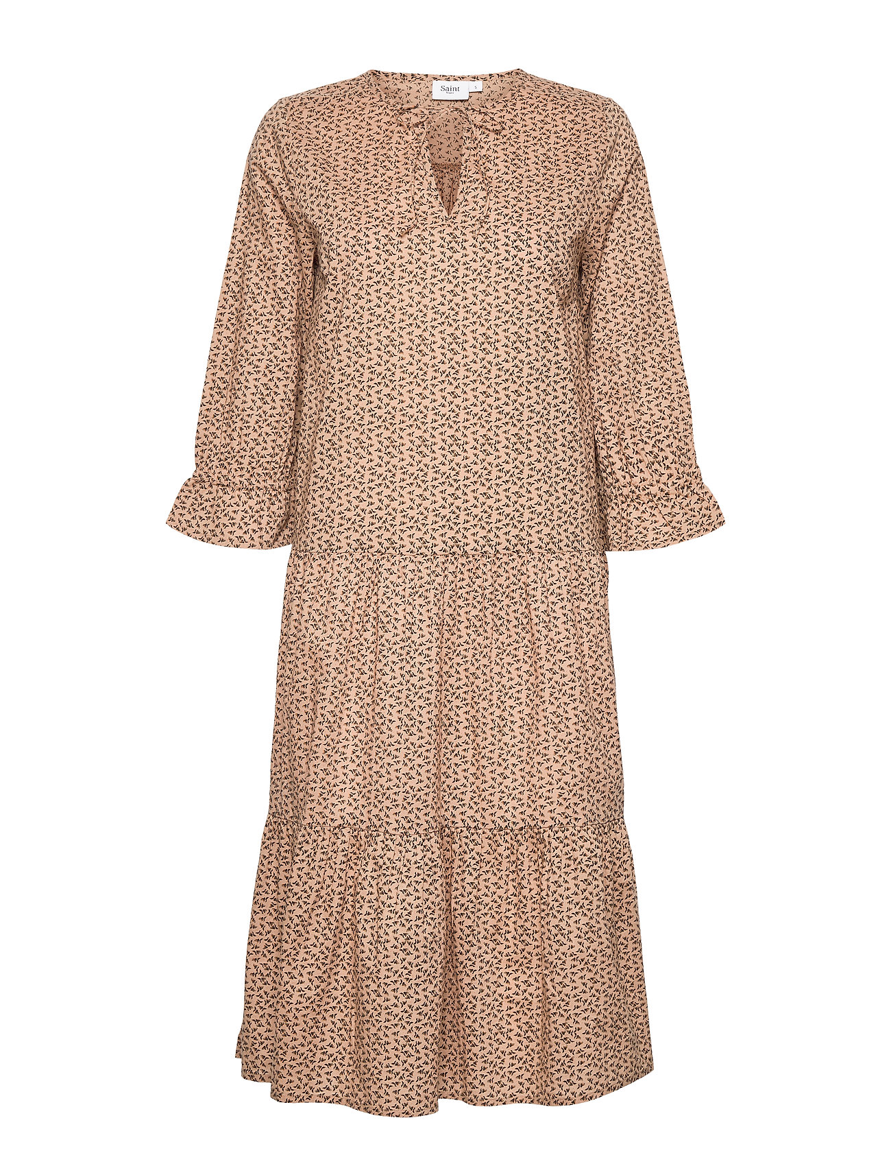 Image of Pennysz Dress Knælang Kjole Beige Saint Tropez (3528692633)