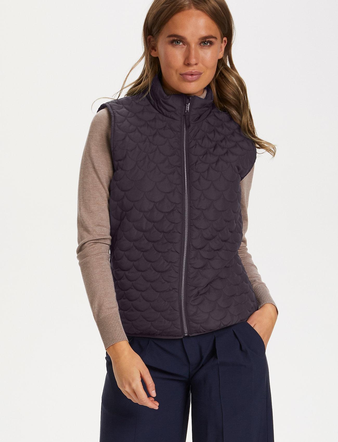 Saint Tropez - EmmySZ Vest - puffer vests - blue deep - 0