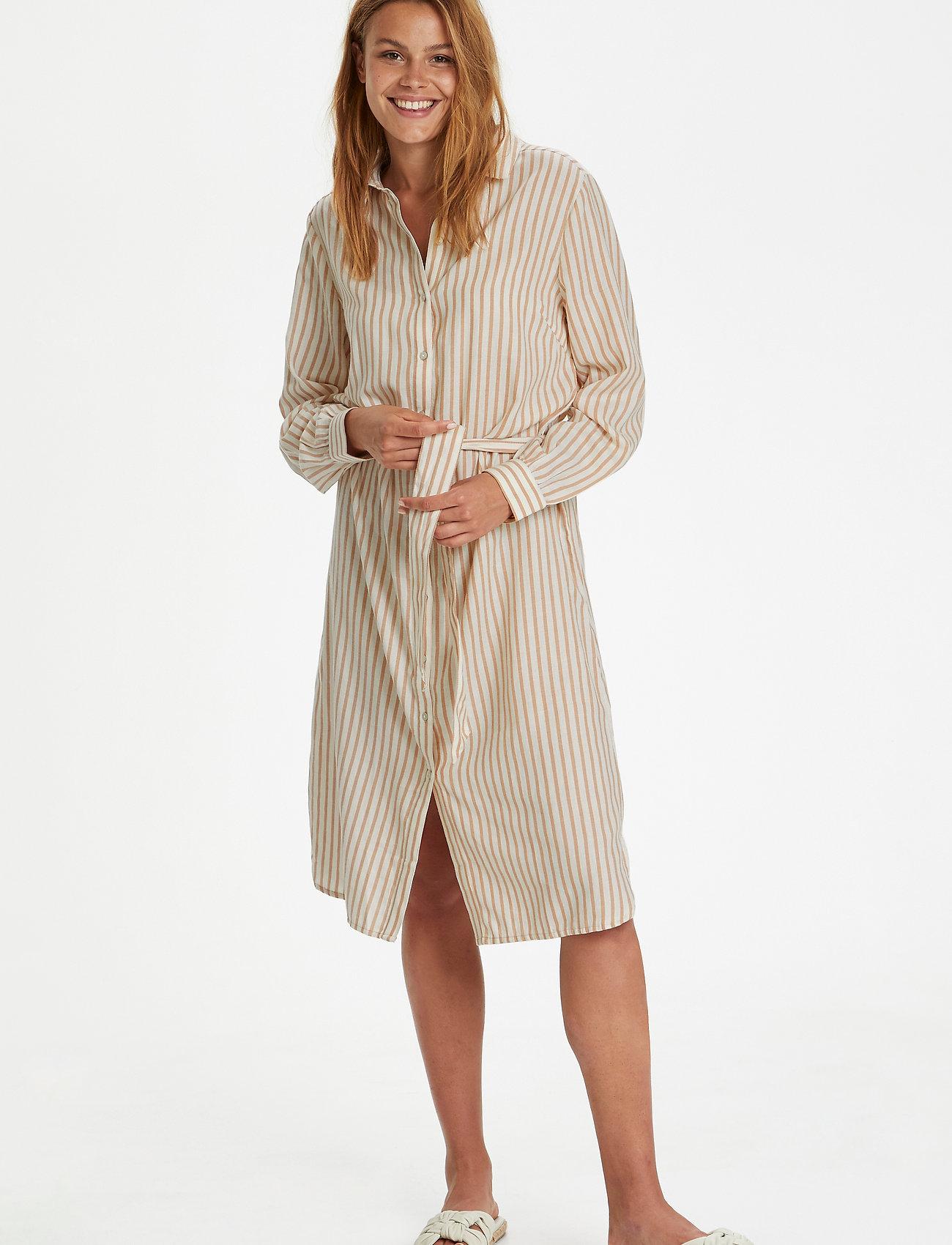 Saint Tropez - AugustaSZ Dress - summer dresses - praline - 3