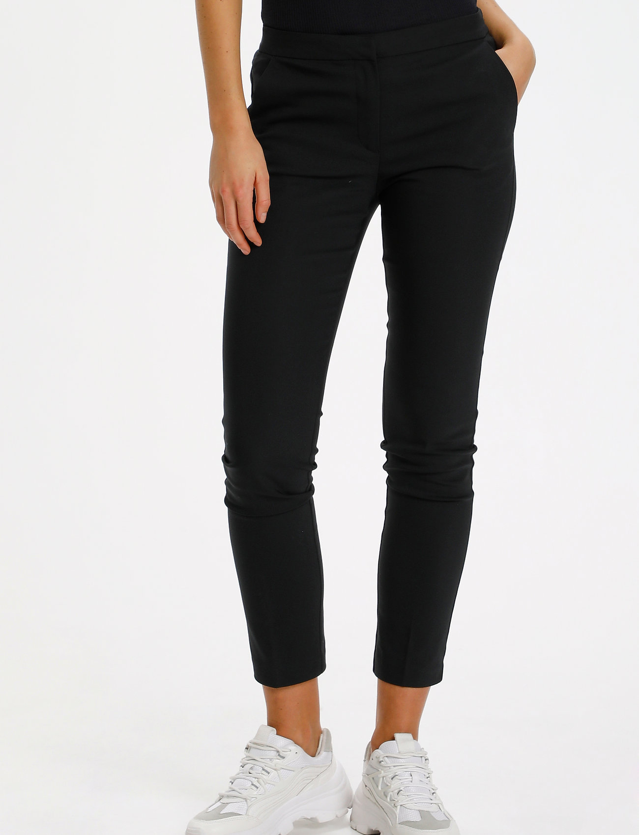 Saint Tropez - R5025, BossaSZ Pants - slim fit bukser - black - 0
