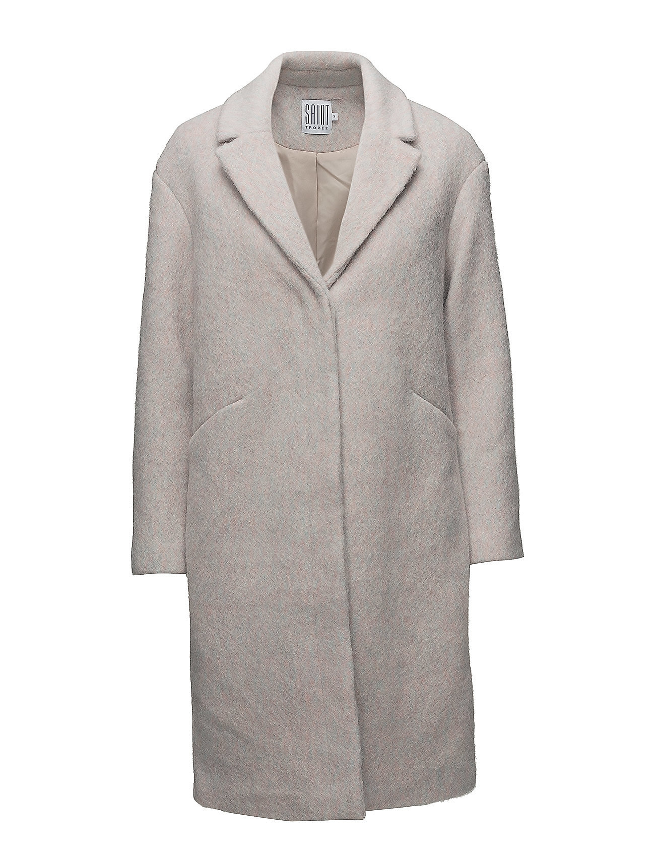 Saint Tropez LONG WOOL COAT