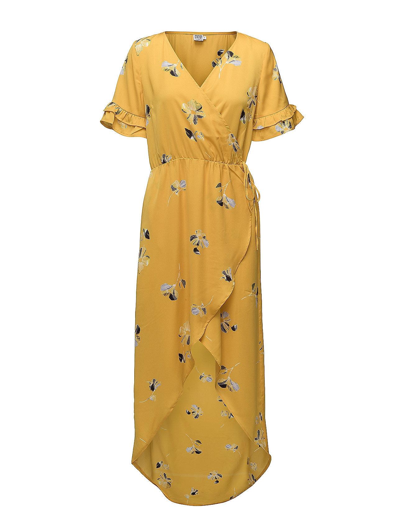 Saint Tropez LARGE FLOWER P WRAP OVER DRESS