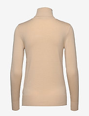 Saint Tropez - J2046, ROLL NECK SWEATER - turtlenecks - creme - 1