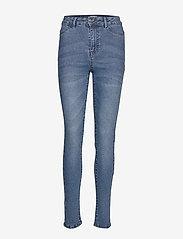 T5757, TinnaSZ Jeans - MED.BLUE