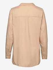 Saint Tropez - BrendaSZ LS Shirt - chemises à manches longues - pebble - 2
