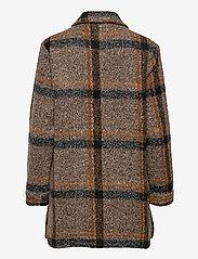Saint Tropez - TayjaSZ LS Jacket - wool jackets - dark earth - 2