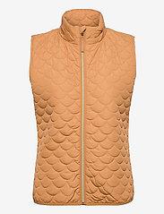Saint Tropez - EmmySZ Vest - puffer vests - biscuit - 1