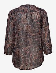 Saint Tropez - PAISLEY PRINT CHIFFON BLOUSE - blouses à manches longues - lantana - 1