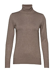 J2046, ROLL NECK SWEATER - ATMOS MELANGE