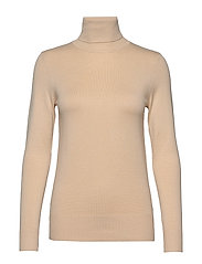 J2046, ROLL NECK SWEATER - CREME