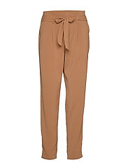 R5005, BELTED PANT - THRUSH