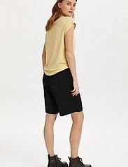 Saint Tropez - U1520, JERSEY TEE S/S - t-shirts - straw - 4