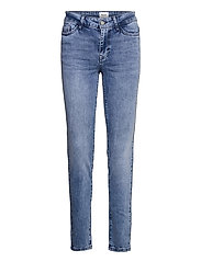 MollySZ MW Slim Jeans - LIGHT BLUE DENIM