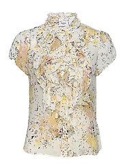 LillySZ SS Shirt - ICE FLOWER FIREWORK