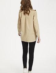 Saint Tropez - BrendaSZ LS Shirt - chemises à manches longues - pebble - 3