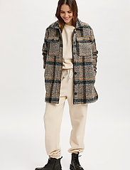 Saint Tropez - TayjaSZ LS Jacket - wool jackets - dark earth - 3