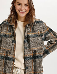 Saint Tropez - TayjaSZ LS Jacket - wool jackets - dark earth - 5