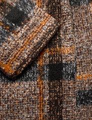 Saint Tropez - TayjaSZ LS Jacket - wool jackets - dark earth - 7