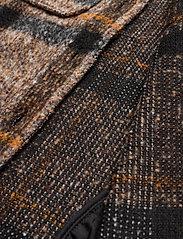 Saint Tropez - TayjaSZ LS Jacket - wool jackets - dark earth - 8