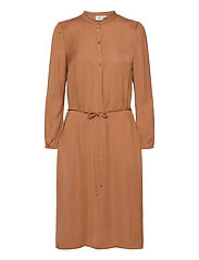 EsraSZ Dress - PECAN BROWN
