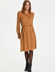 Saint Tropez - EsraSZ Dress - alledaagse jurken - pecan brown - 3