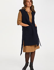 Saint Tropez - EnricaSZ Vest - knitted vests - blue deep - 3