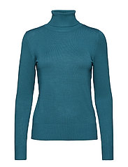 ROLLER NECK SWEATER - PINEGREEN