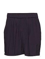 WOVEN SHORTS ABOVE KNEE - BL DEEP