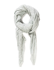 METALLIC LACY SCARF - C.MINT