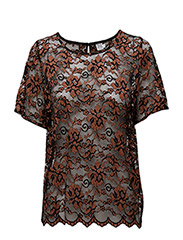 LACE TOP - COPPER