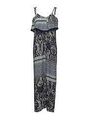 PAISLEY MAXI DRESS - B.BLUE