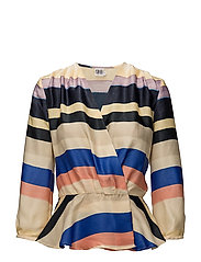 MULTI STRIPED TOP - MARINA