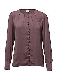 BLOUSE WITH BUTTON DETAIL - FLINT