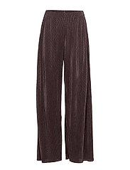 PARTY PLISSE TROUSERS - SPARROW
