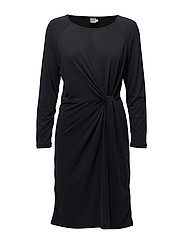 MODAL DRESS W.KNOT - PHANTOM