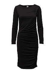 MODAL DRESS - BLACK